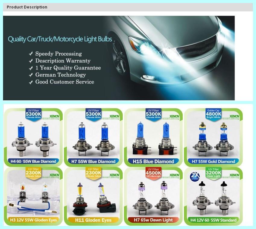 xencn h7 12v 100w px26d 4500khalogen auto bulbs power x. Black Bedroom Furniture Sets. Home Design Ideas