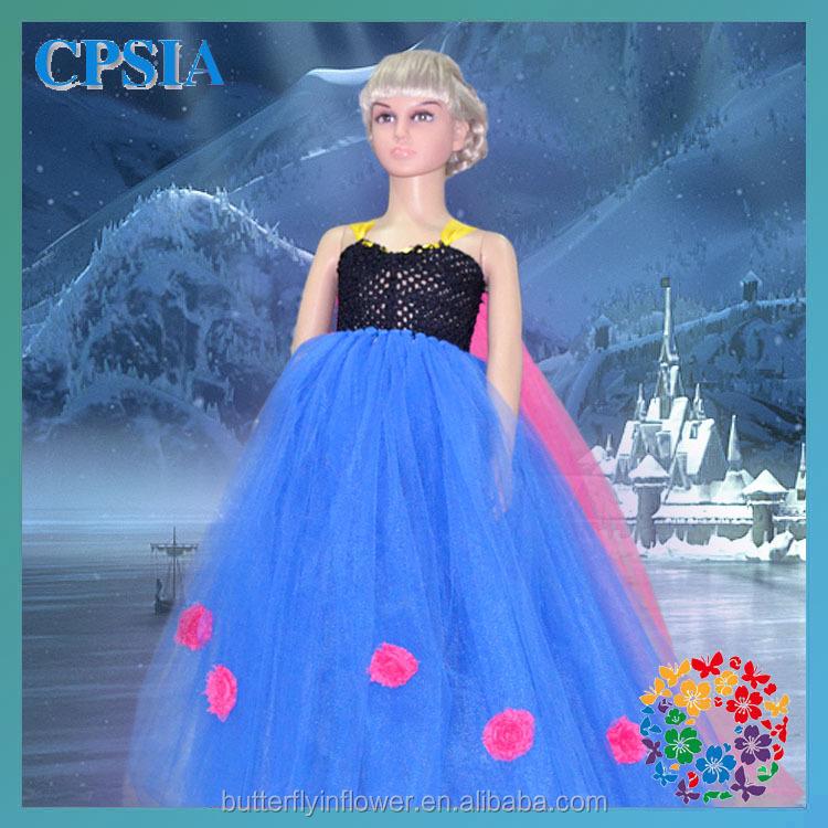 Wholesale Toddler Girl Boutique Dress Fashion Kids Blue Dresses ...