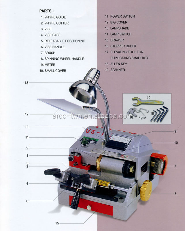 used key duplicator machine