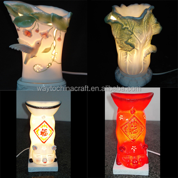 Electric Aroma Oil Lamp Burner Table