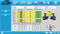 G780 With Oem Vehicle Specs Database 3d Wheel Alignment Machine ...