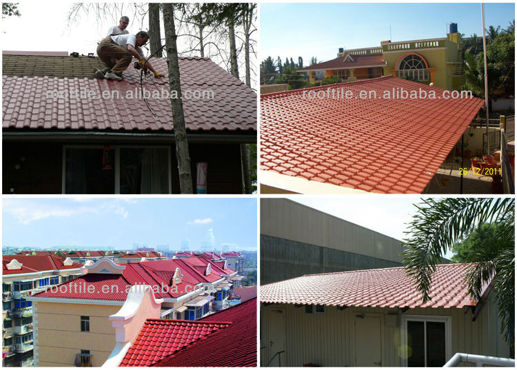 Perfect Pvc Plastic Synthetic Thatch Roof Tiles