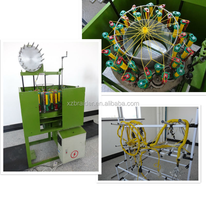 24 carriers braided wire harness machine supplier buy wire harness rh alibaba com wiring harness manufacturing machines wiring harness taping machine