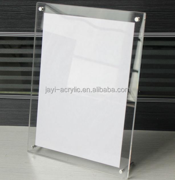 Acrylic Poster Frame Displays,Acrylic Sheet Poster Frame,Clear ...