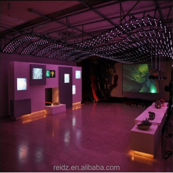 See-through Led Net Curtain,Full Color,Shows Videos,Text,Graphics ...