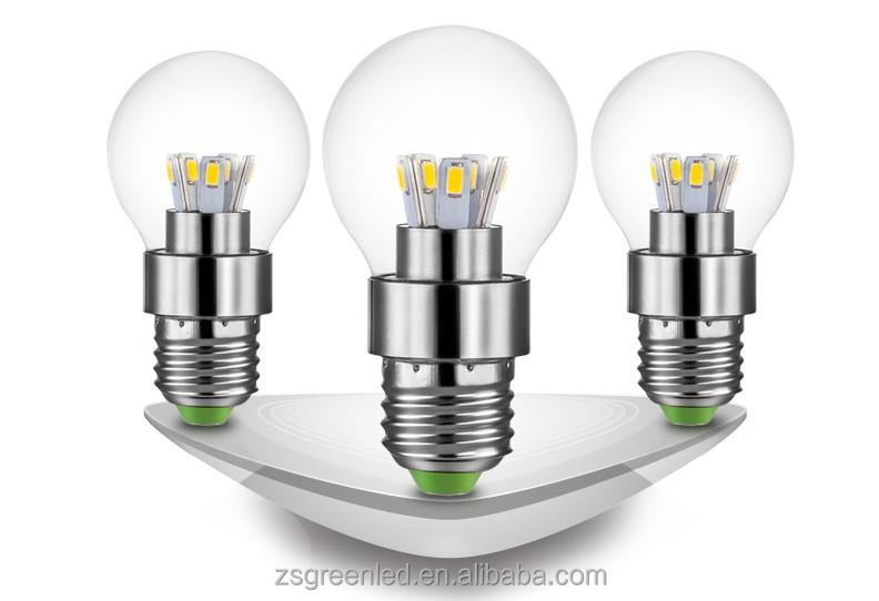 Led Birnen Kronleuchter ~ Watt globus lampe grad runde kronleuchter e led glühbirne