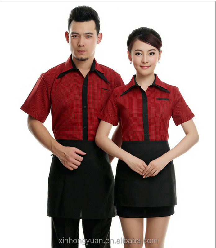 Asian Restaurant Uniform Fast Food Restaurants Uniform