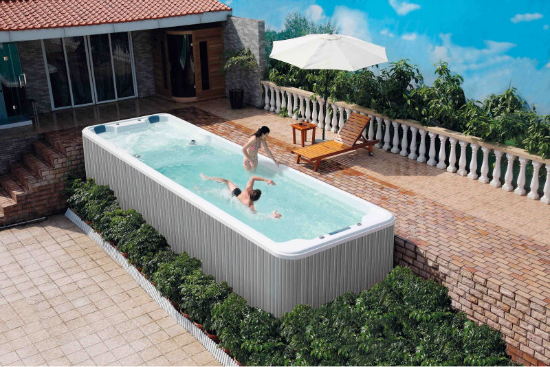 Prefabricated Swimming Acrylic Pools Ws-s06b With Cb,Ce,Iso,Etl,Saa - Buy  Acrylic Pools,Endless Swimming Pool,Garden Swimming Pool Product on ...