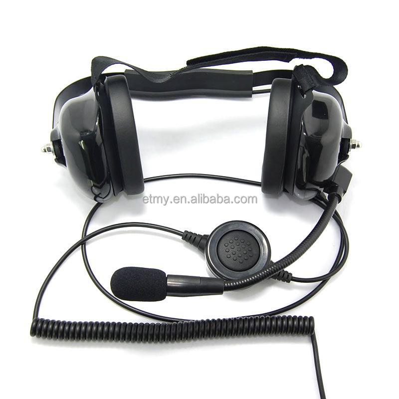 Noise Cancelling Headset For Dp3400 Motorola Walkie Talkie