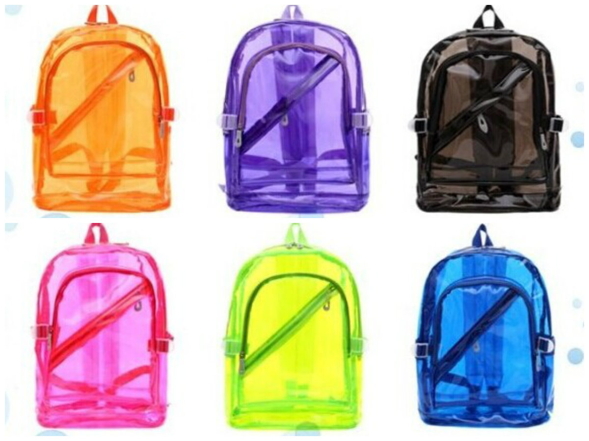 Clear Book Bags For School Wholesale Made In China - Buy Clear ...