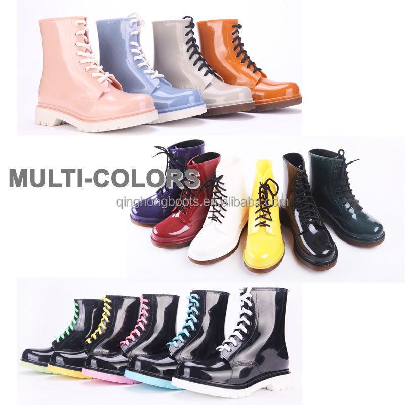 Low Heel Nude Girl Short Rain Boots,Cheap Clear Rain Boots For ...