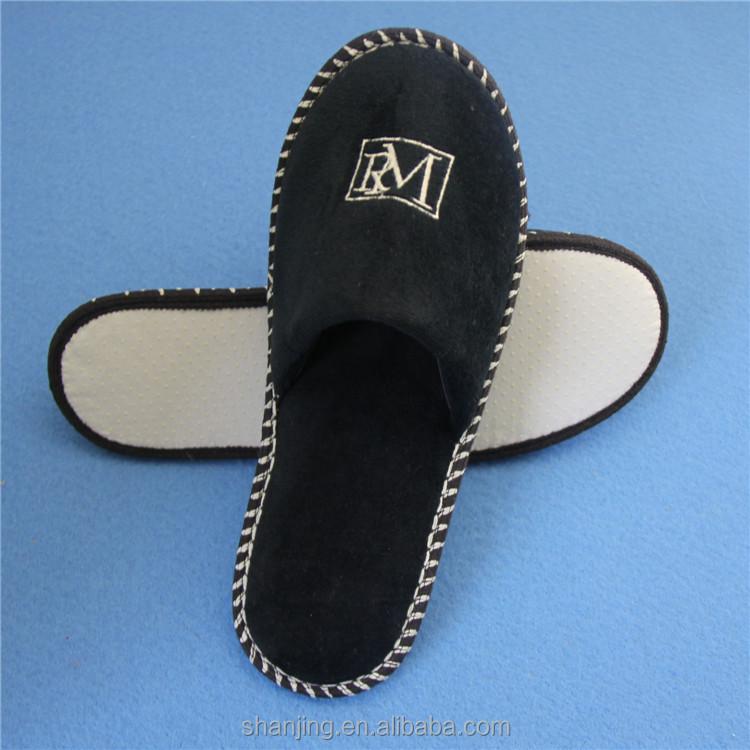 wholesale upmarket hotel slippers online ordering