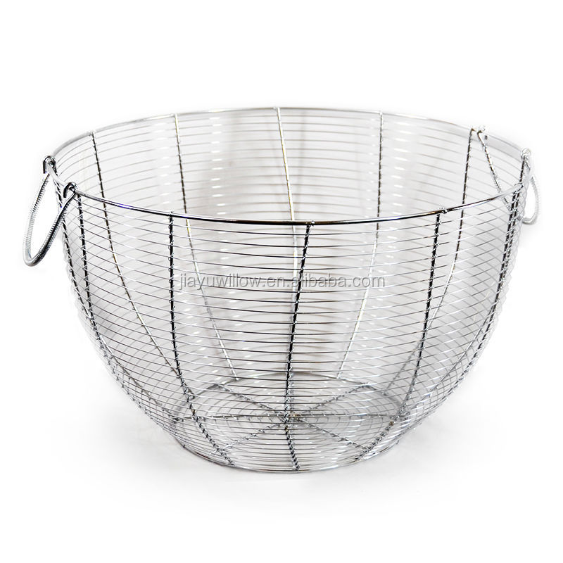 Wrought Iron Fruit Baskets Kitchen Wire Basket Metal Fruit Basket Holder