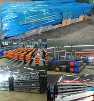 Two Floor Mechanical Parking Garage System Pit Type Vertical ...