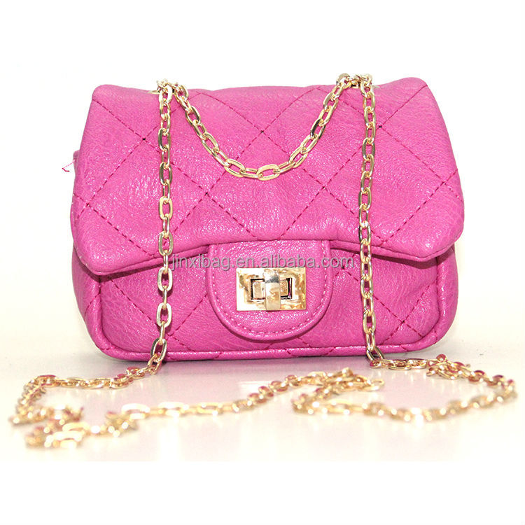 New Design Girls Small Side Bags With Chain Strap - Buy Girls ...
