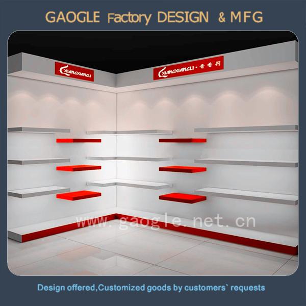 Modern Design Shoes Shelf Glass Shoe Rack Display For Shoe Store ...