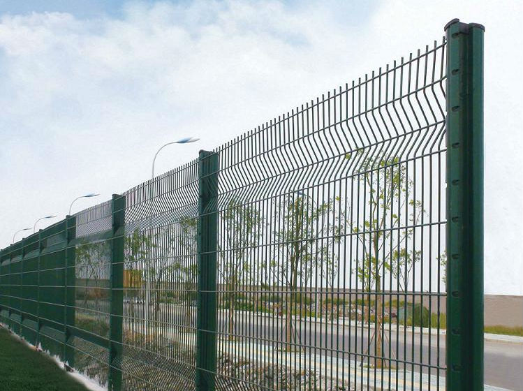 Curved Wire Mesh Fence,Tie Wire Galvanized Welded Wire Mesh Fence ...