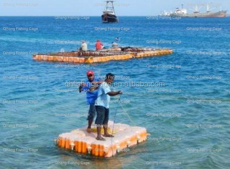 Durable modular floating pontoon leisure platform buy for Floating fishing platform