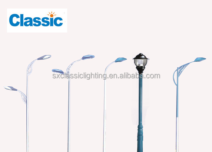 Used Light Poles : M single double arm used street light poles buy