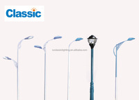 Electric Lighting Poles Led Solar Street Light With Pole Single ...