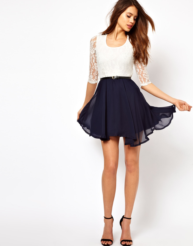 d4a042fdf087a 2014 new women's Fashion women dress in the main European and American  style lace frocks 878 Dresses Cheap Dresses