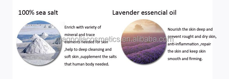 Lavender Essence Bath Sea Salt