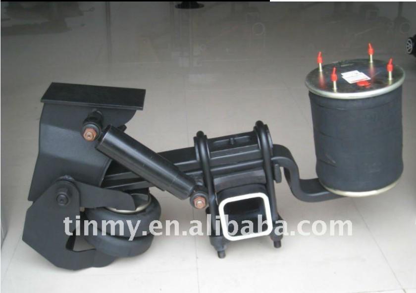 Trailer Air Bags : Semi trailer lift axle air suspension truck