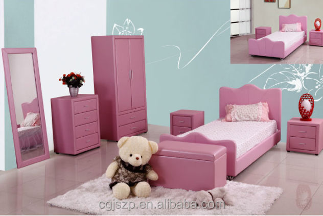 Modern Pink Children Bedroom Set - Buy Bedroom Furniture Sets,Kids Bedroom  Set,Girls Bedroom Sets Product on Alibaba.com