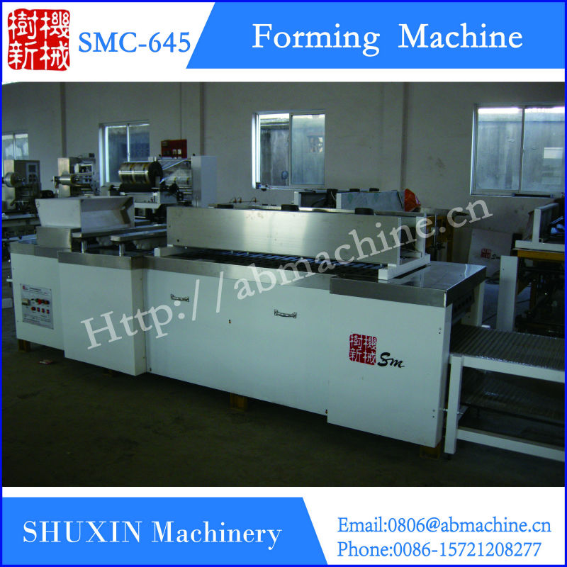 snack equipment automatic feeding and cutting candy bar making machines