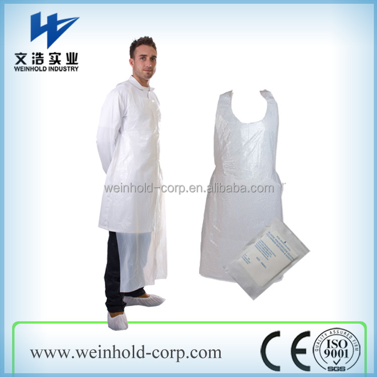 High Quality Plastic Aprons Pe Apron Disposable Aprons With ...