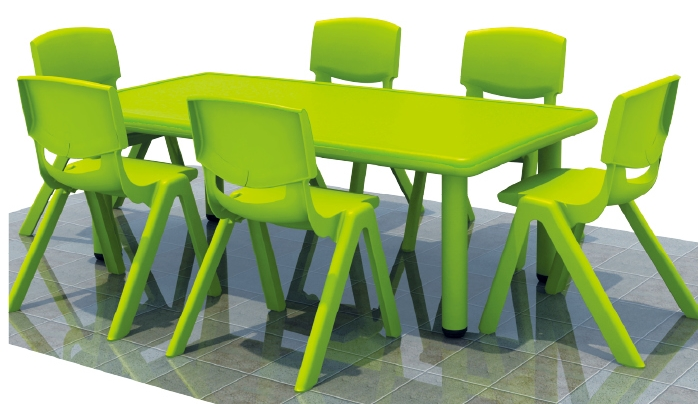 Colorful square nursery school kitchen tables used daycare for Cheap childrens kitchen sets