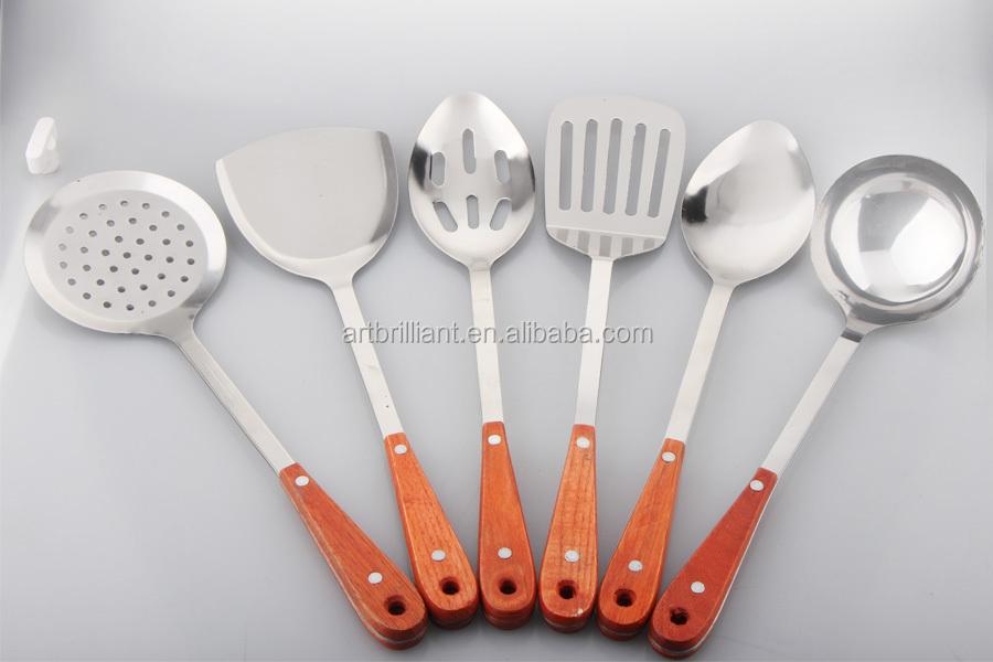 Venta caliente royal prestige ollas brillante elegante for Kitchen utensils in spanish