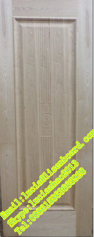 Beau 2 Panels Sapele Molded Door Skin,one Panel Mahogany Door Kin MDF And Plywood