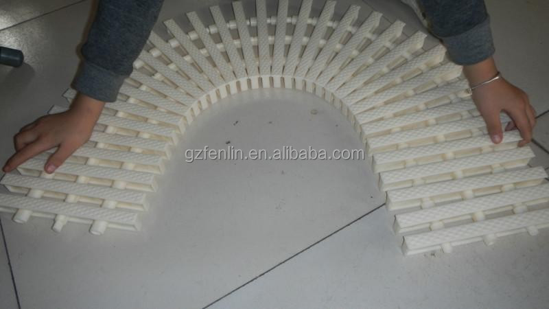 Flexible Swimming Pool Overflow Grating Outdoor Drain