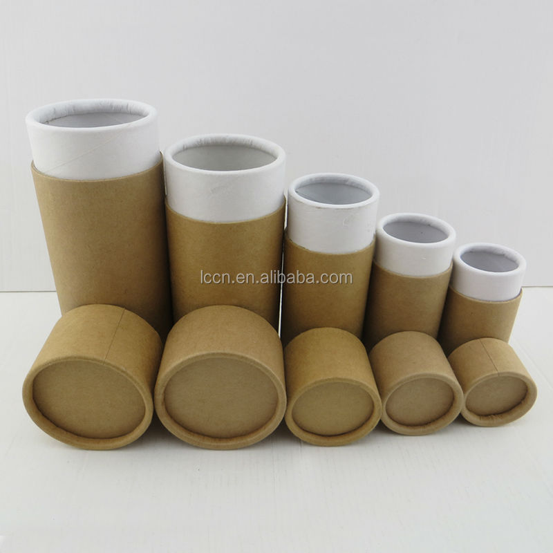High quality brown paper craft tube paper tube box paper for Kraft paper craft tubes