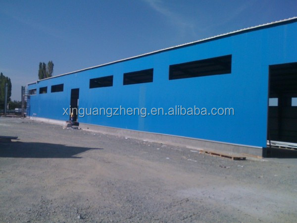Steel bar storage warehouse prefab steel warehouse shed