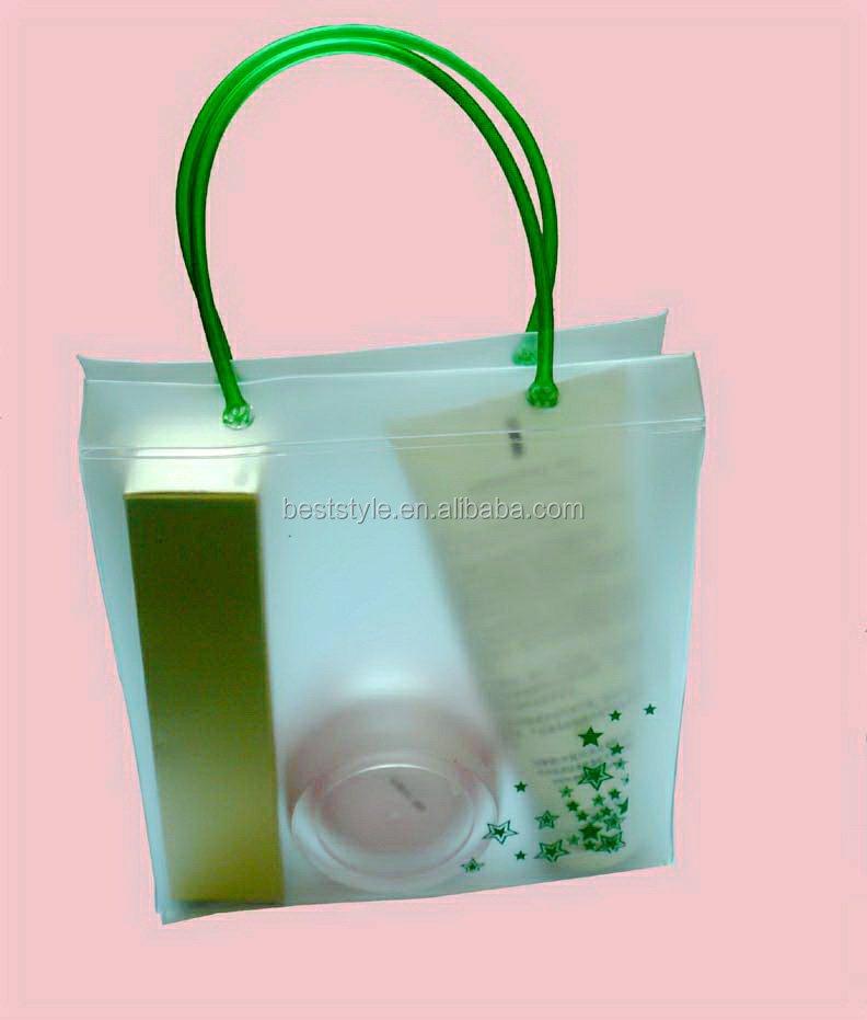Baby Shampoo Plastic Vinyl Tote Bags Soft Eva Bag With Handle ...