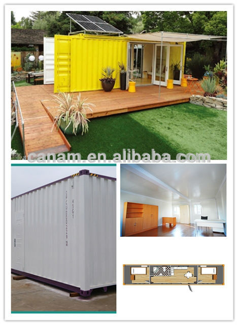 20ft tiny modular sandwich panel steel structure container house
