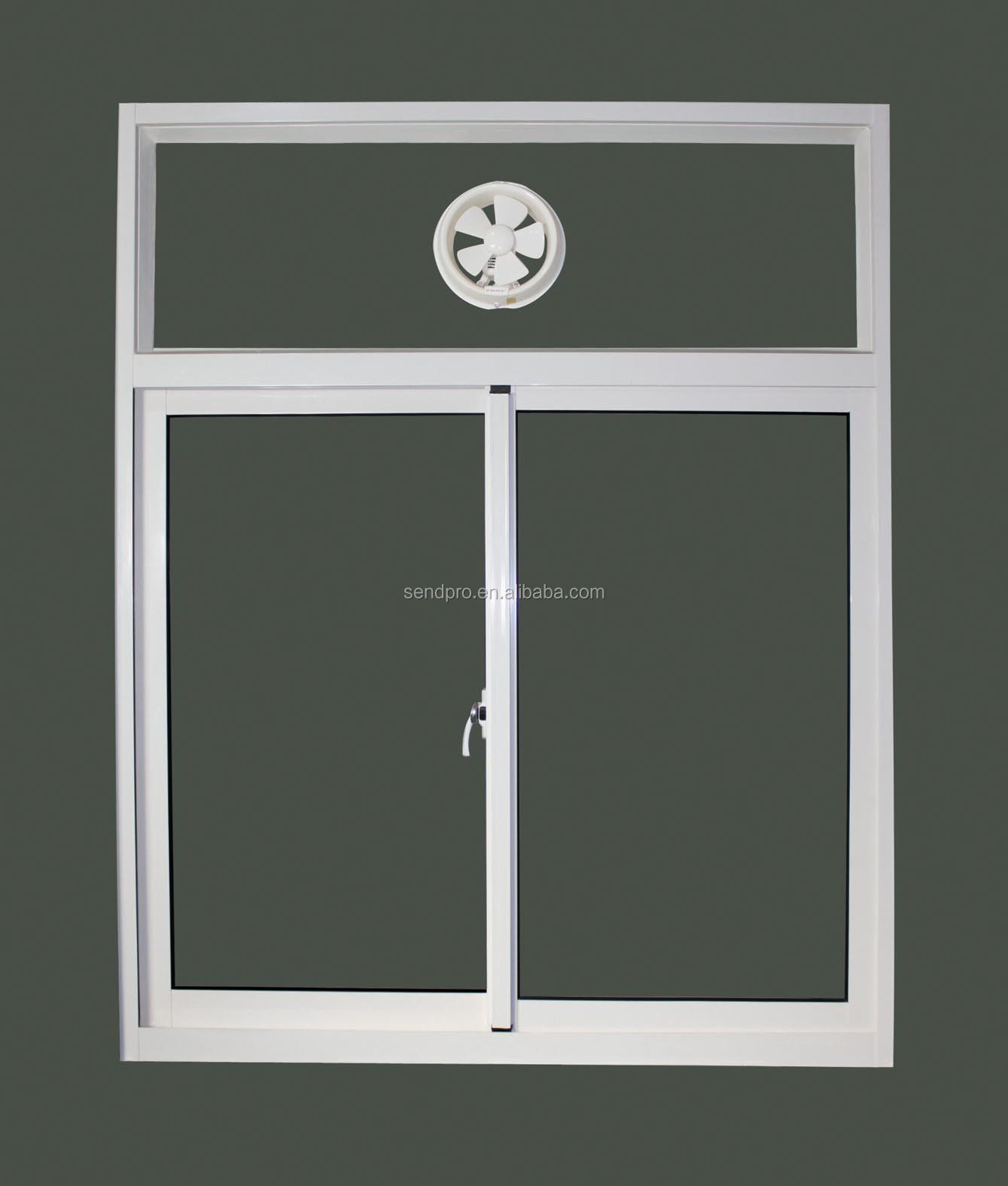 Exterior Aluminum Sliding Glass Window With Ventilation
