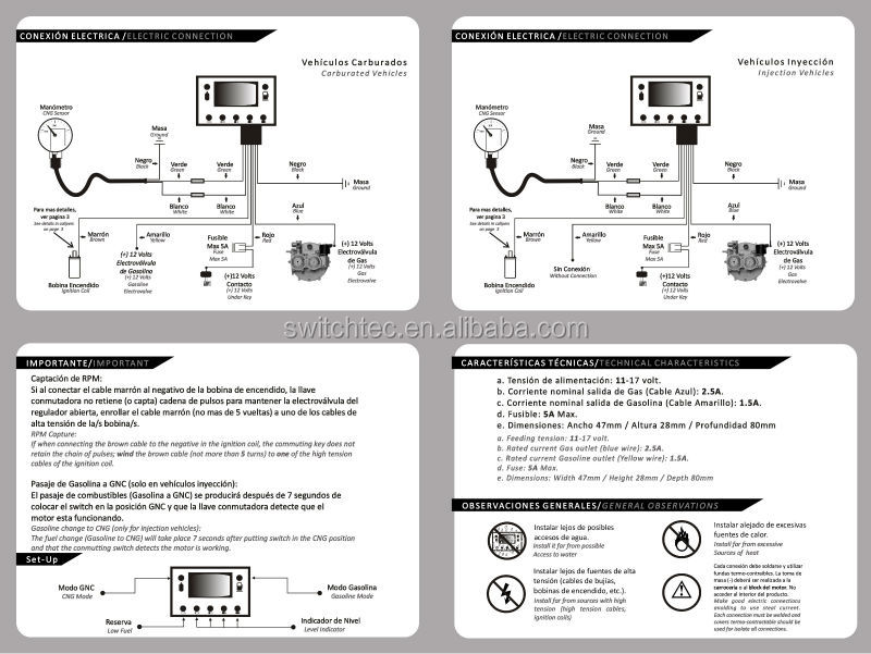 HT1j21cFLVcXXagOFbX1 cng lpg 7 indicators change over switch buy cng indicator switch lpg changeover switch wiring diagram at soozxer.org