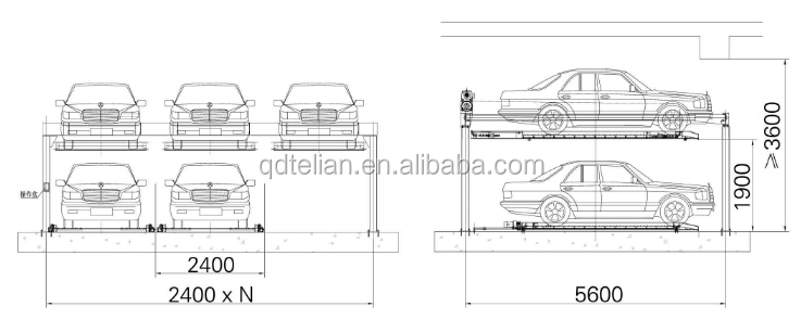 Specifications. Intelligent Plc Control Autom Puzzle Car Parking Two Layers