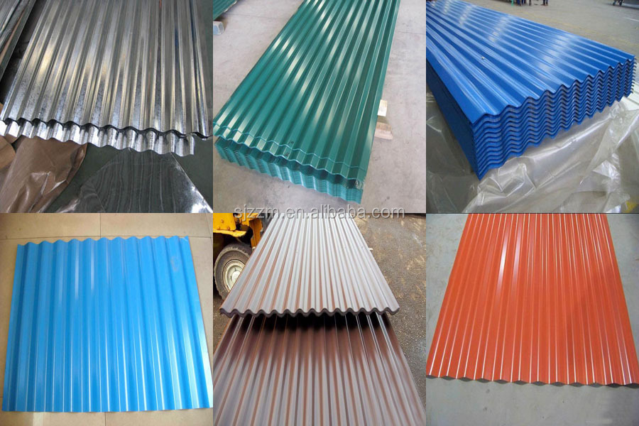 Color Coated Zinc Roof Sheet Price