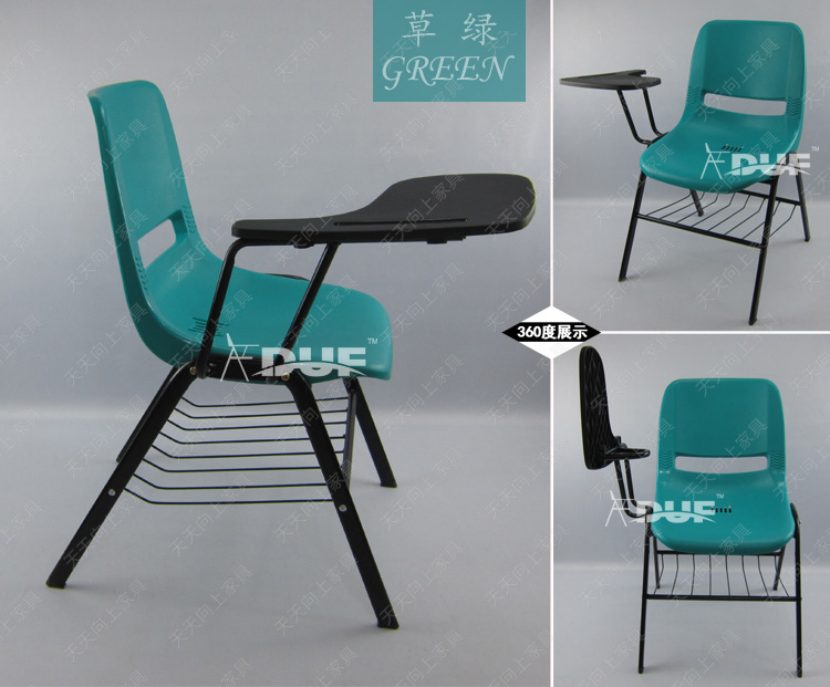 the lecture hall furniture school chair in china tablet arm chair board wholesale price free shipment