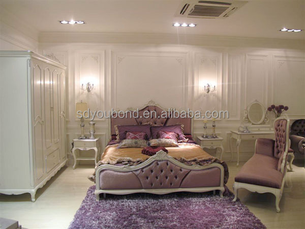 10007 흰색 프랑스 스타일의 현대적인 침실 세트 이탈리아어 네오 ...