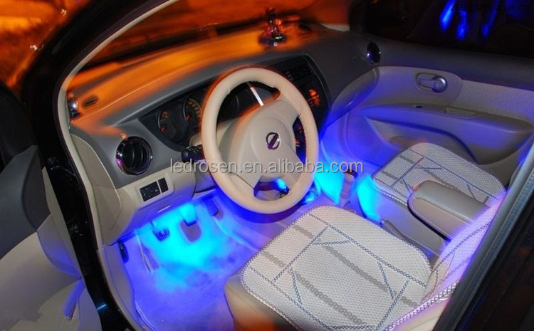 Car interior light decoration images for Deco interieur voiture
