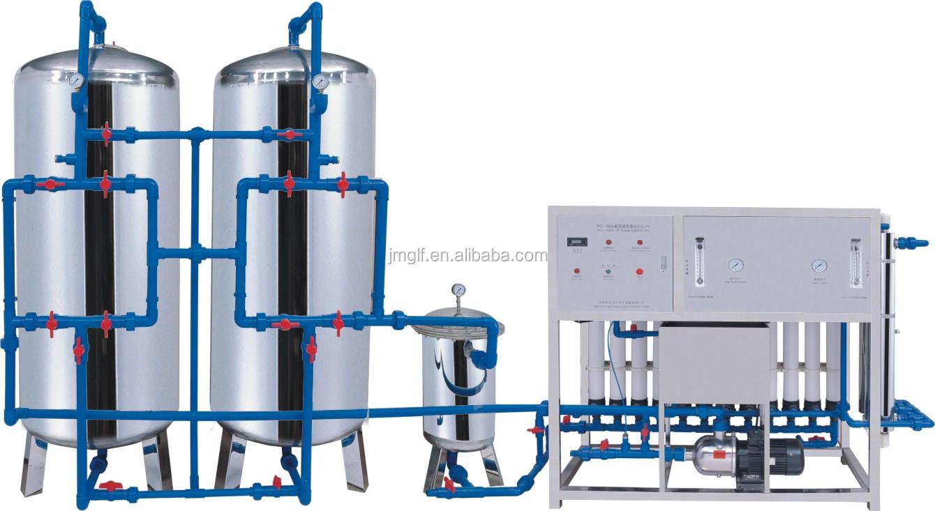 Water Treatment System : Jiangmen greenfall a complete water treatment system micro