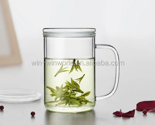 Personal Big Thermal Thin Glass Bubble Tea Cup Wholesale