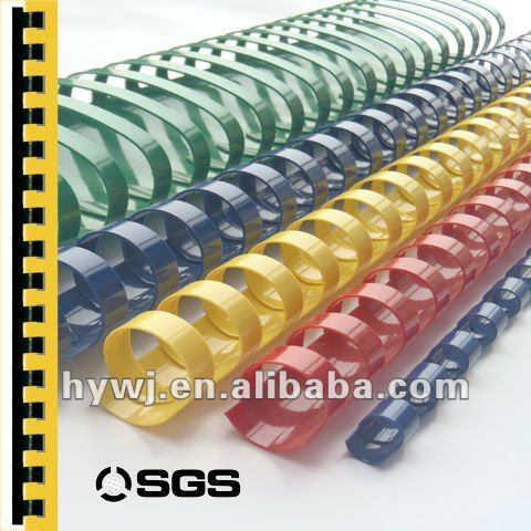 12 Mm Binding 80 Sheets Plastic Comb Ring Book