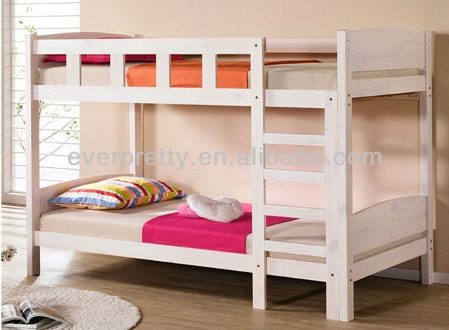 Wooden double decker bed kids double deck bed wholesale for Double deck bed images