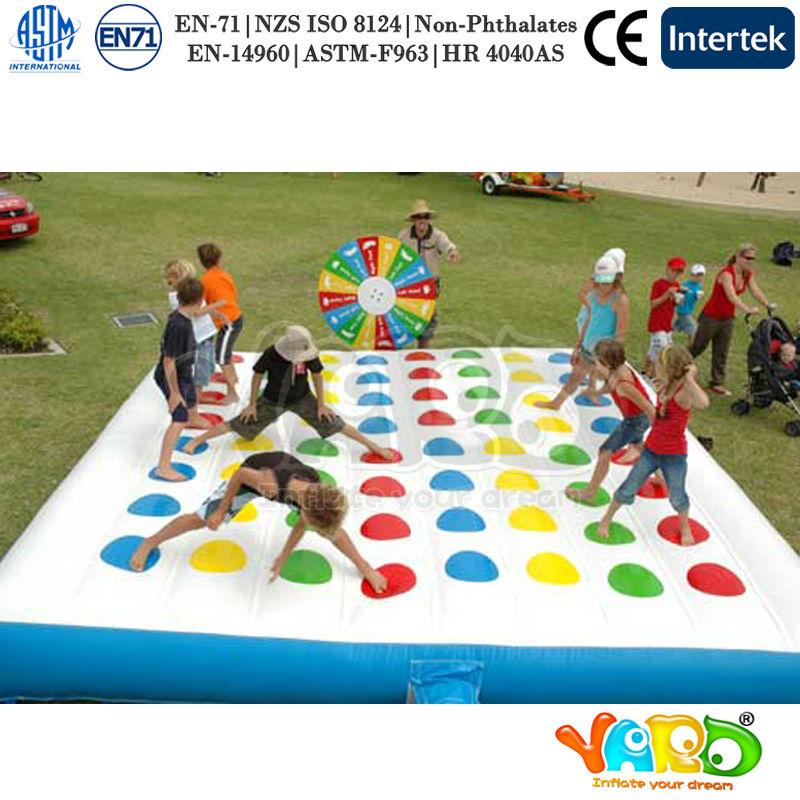 fun gonflable twister jeu pour adultes et enfants autres jouets loisirs id de produit. Black Bedroom Furniture Sets. Home Design Ideas